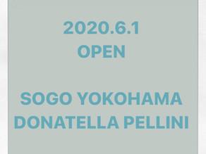 Donatella pellini  そごう横浜店OPEN