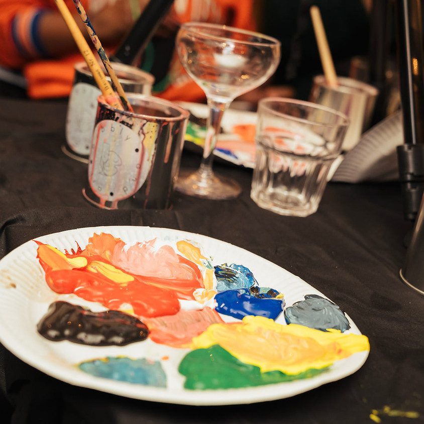 GUAP IN GHANA LIVE Paint & Sip