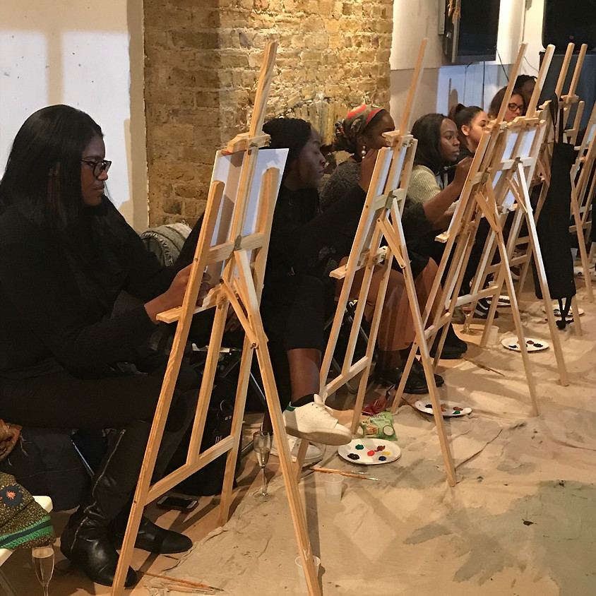Life Painting & Prosecco at Peckham Palms