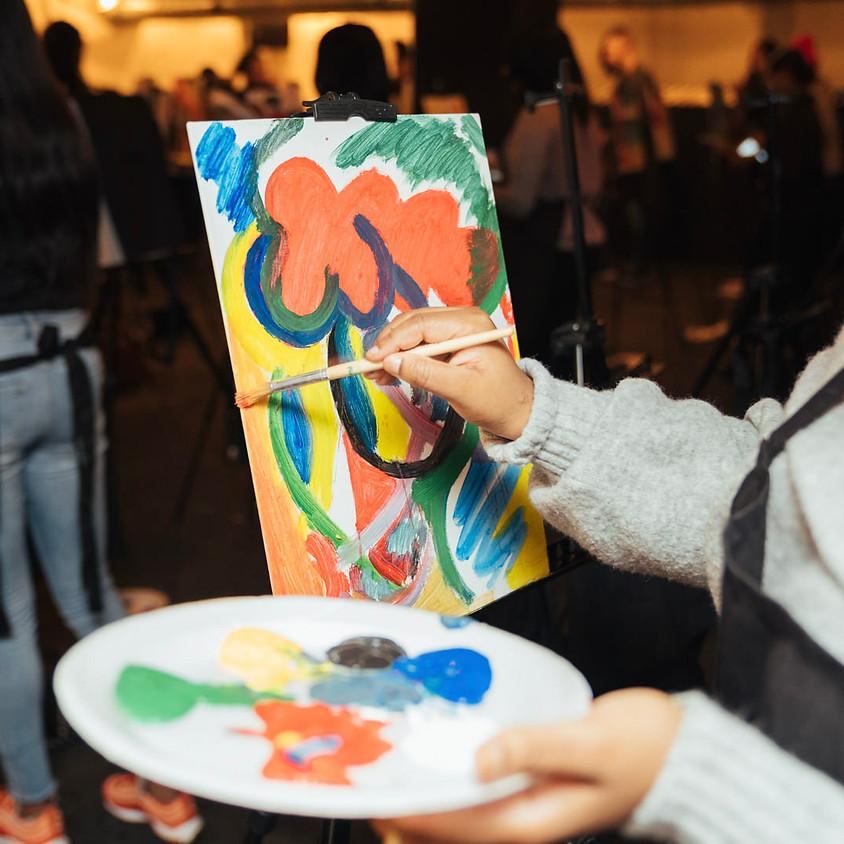 Paint & Sip @ BOXPARK SHOREDITCH