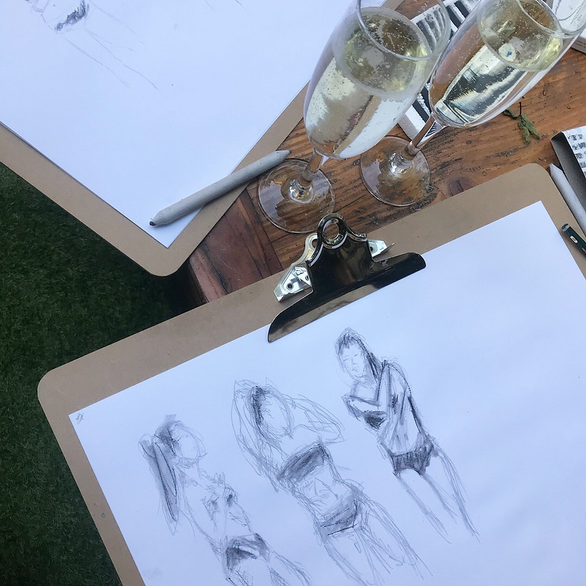 Bubbly and Art: Life Drawing @ The Prince of Peckham