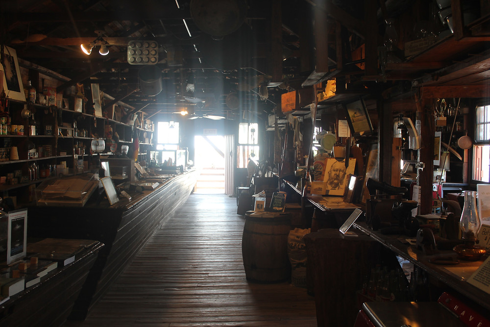 The view inside the Smallwood Store
