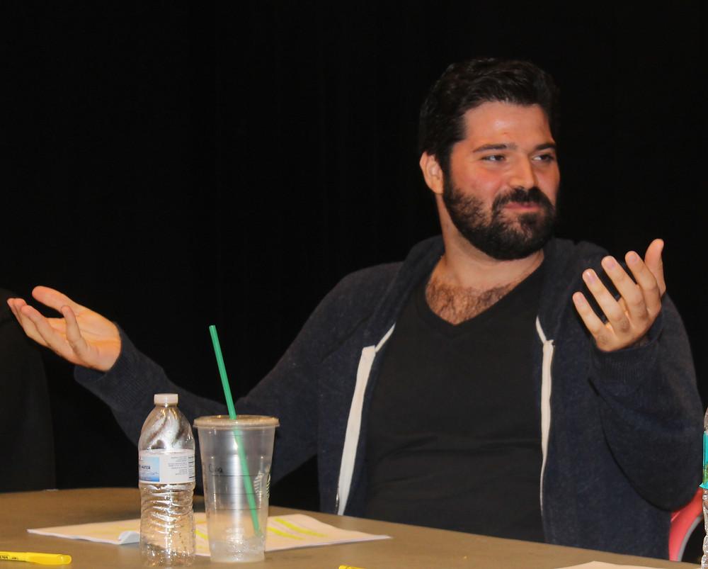 Actor Alex Alvarez