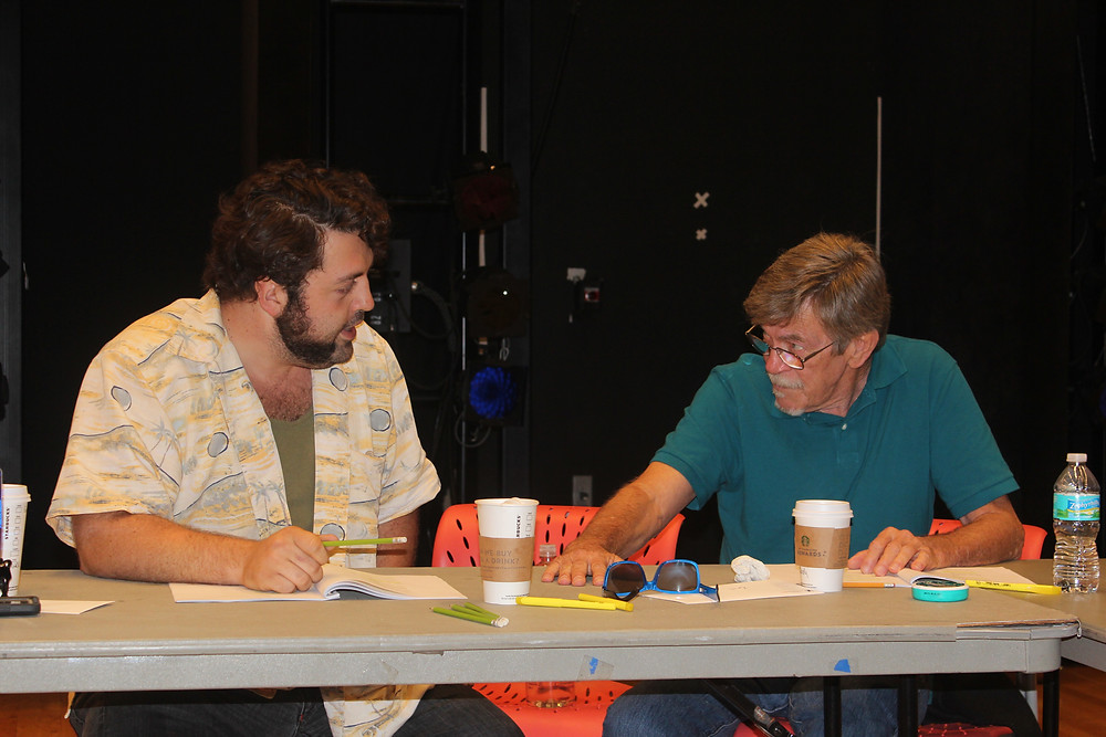 Actors Zach Myers and Jim Gibbons