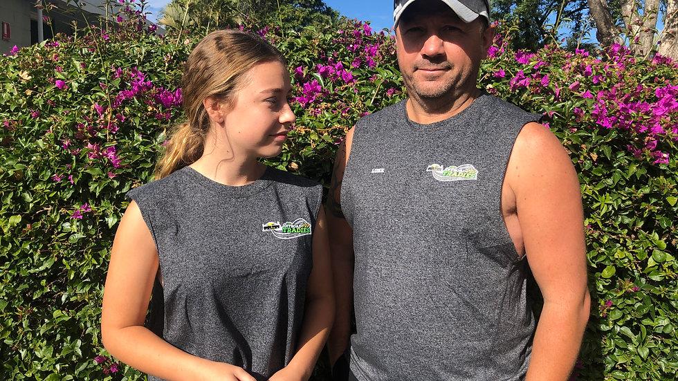 Men's, Women's & Kids Cut  sleeveless tank top