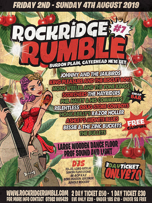 Rumble 3-Day Adult Ticket