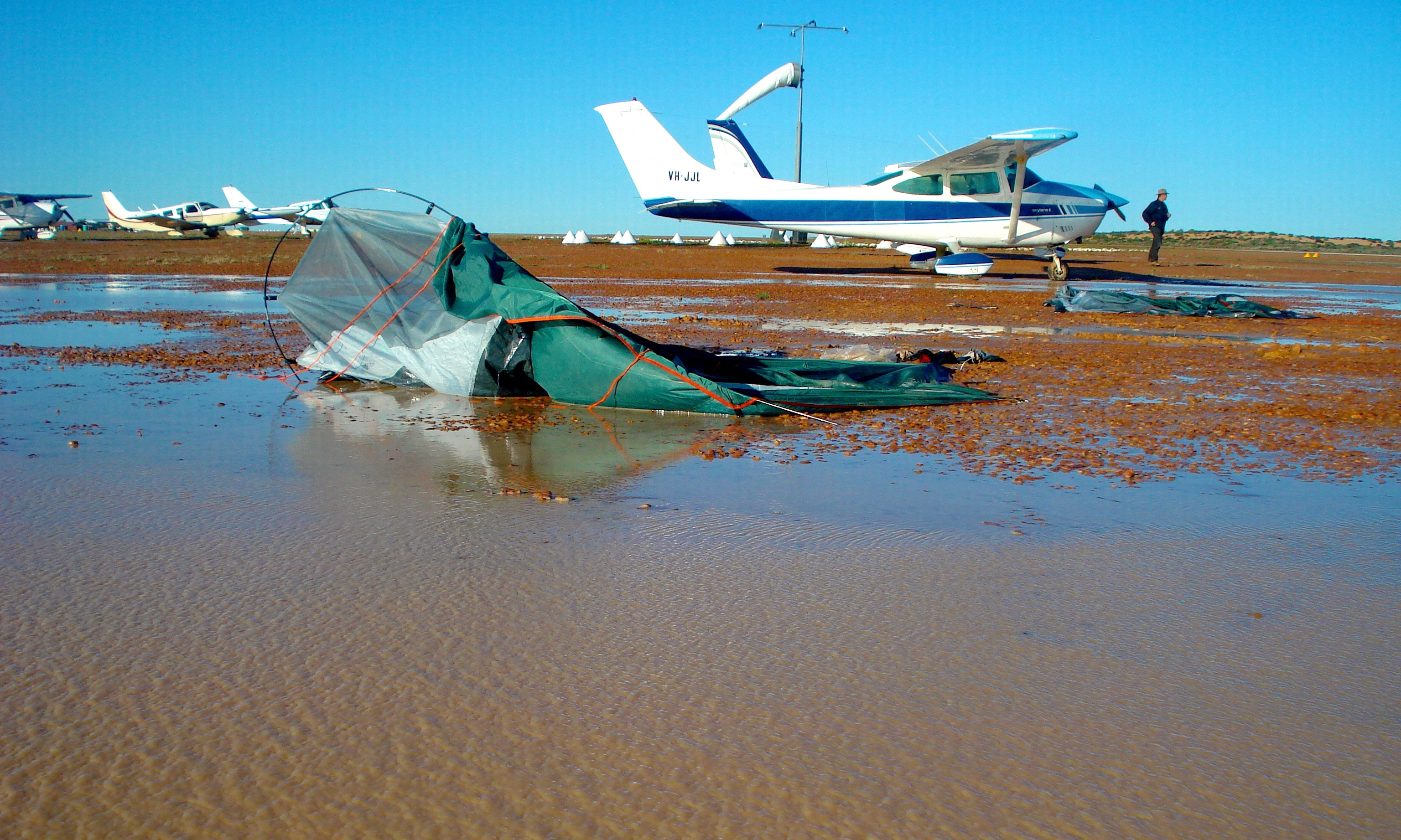 birdsville wash out 2010