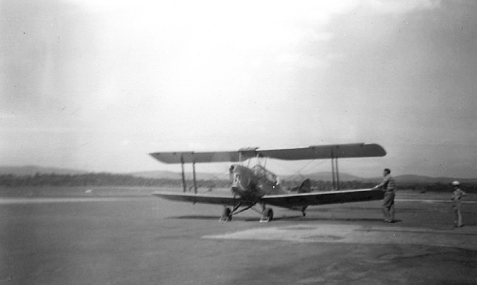 VH-BSO Tiger Moth