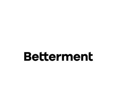 Betterment is hiring! Retail Analytics Leader