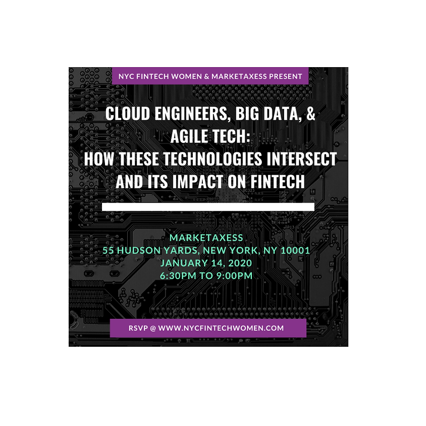 Cloud Engineers, Big Data, Agile - How these technologies intersect and its impact on FinTech