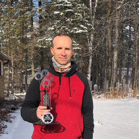 2019 Volunteer of the Year: Rudy O'Brien
