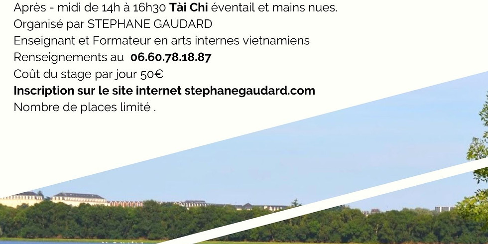 Stage de Tài Chi et Qi Gong juillet 2021