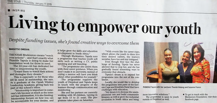 The Star Newspaper article_ 17 Jan 2019.