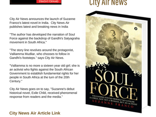 Author's Backdrop of Gandhi's Satyagraha