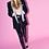 Thumbnail: Crystal Embellished Velvet Blazer