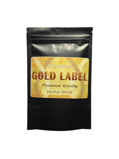 Savanna Gold Label Herbal Tea Blend