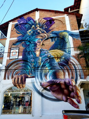 Artist- Adrian Takano Location- Calle Insurgentes 298