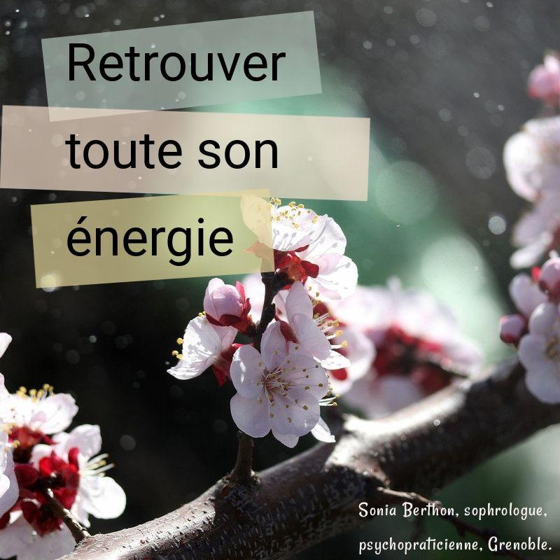 Trouver l'énergie en soi et tout autour de soi