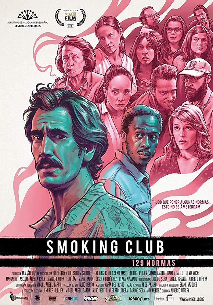 Ursula Gutierrez actriz cartel smoking c