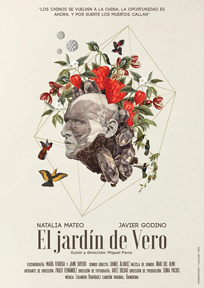 cartel el jardin de vero