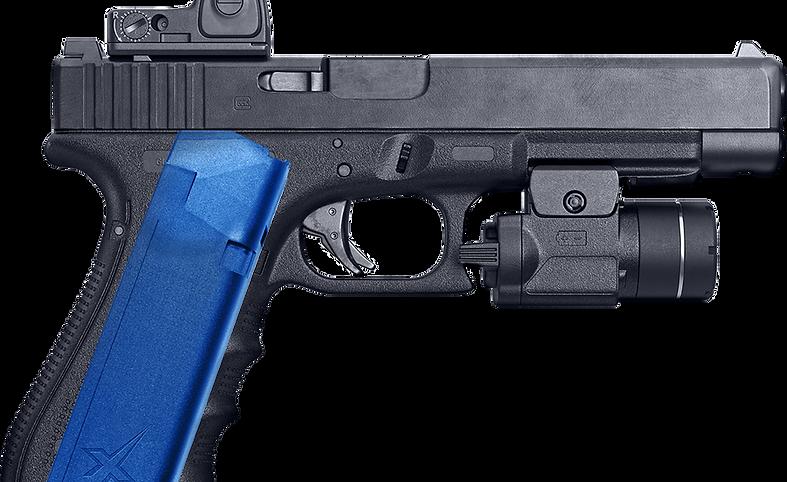 Xmag and gun