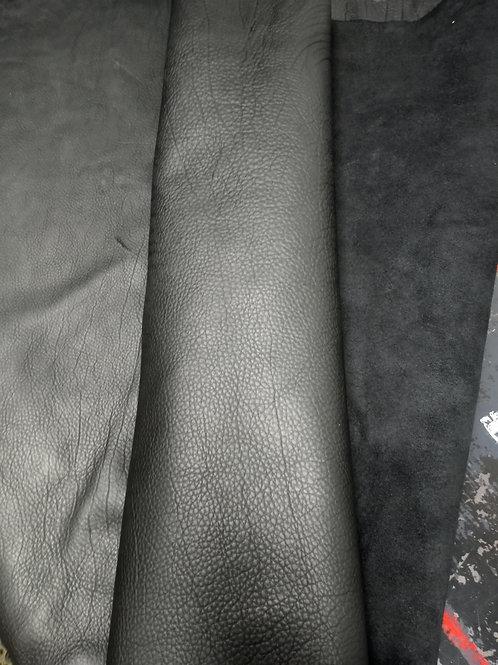 BisonWornSaddle Black 5-5.5oz Lot#26775