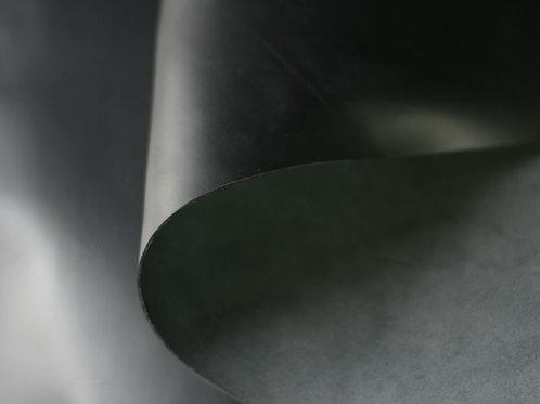 Black Anaconda 4.5-5oz rolled leather