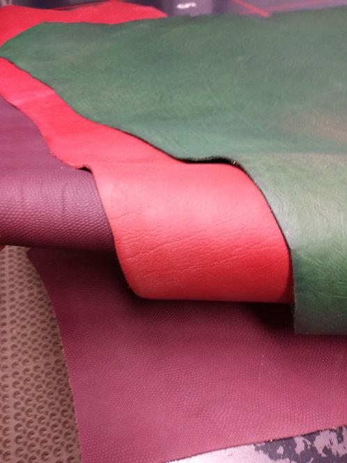 Tri-Color Embossed Shoulder Set  5-6oz Man#10266