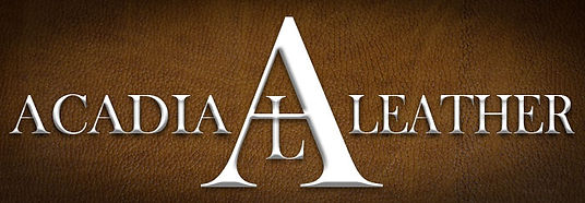 acadia leather logo