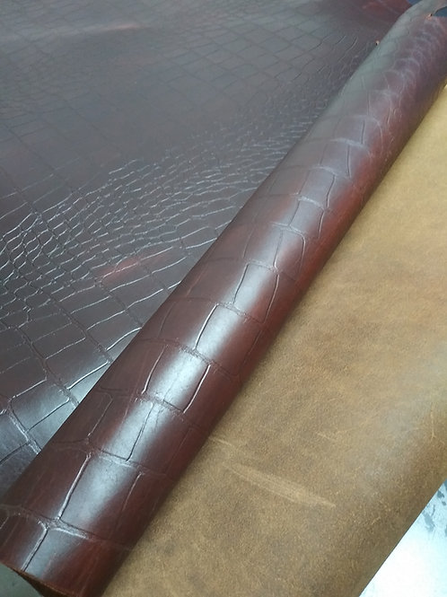 Basswood Croc 5-5.5oz - Lot 10517
