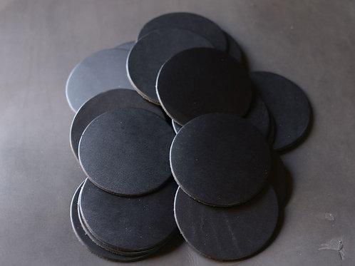 Black Apache Coaster Blanks (Circle)