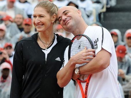 """Agassi y Graf sobre el éxito en el tenis: """"Todos pasamos por momentos difíciles"""""""