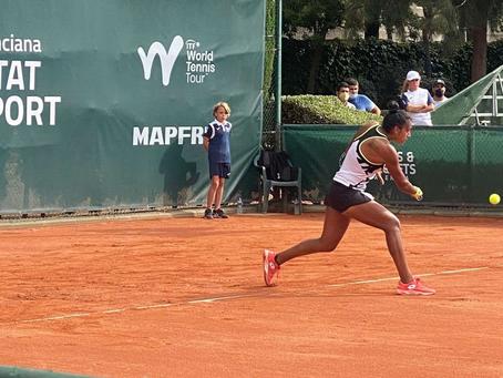Seguel cae ante jugadora Top 100 en Cuartos de Final en Valencia
