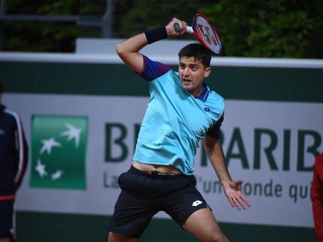 Derrotó a un ex Top 60: Tomás Barrios se impone en duro debut en Roland Garros