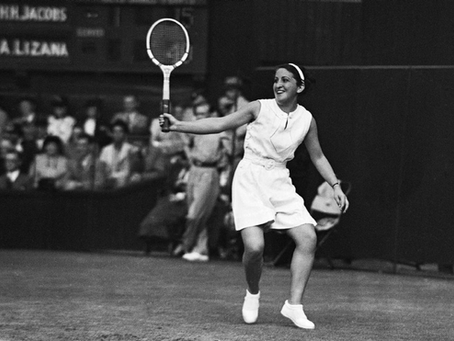 Anita Lizana, la pionera: La heroína del tenis chileno fue la primera en jugar Wimbledon