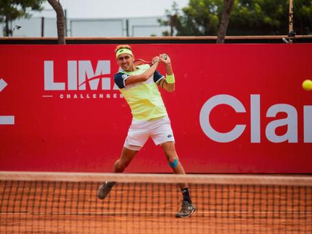 Alejandro Tabilo se instaló en los cuartos de final del Challenger de Lima