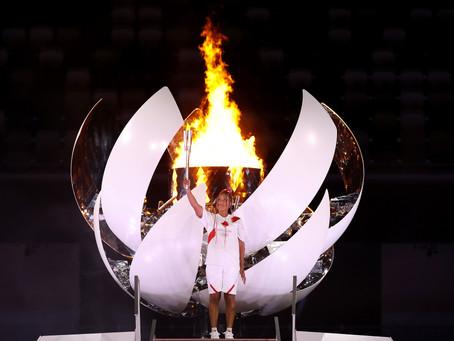 Osaka es histórica: La japonesa se convirtió en la primera tenista en encender el pebetero olímpico