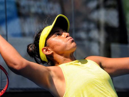 """Macarena Cabrillana tras competir en el Australian Open: """"Fui la más feliz de todo Melbourne Park"""""""