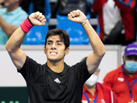 Impecable estreno: Garin impone su ranking y le entrega a Chile el primer punto en Copa Davis