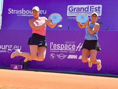 Guarachi alza su quinto título en el WTA de Estrasburgo