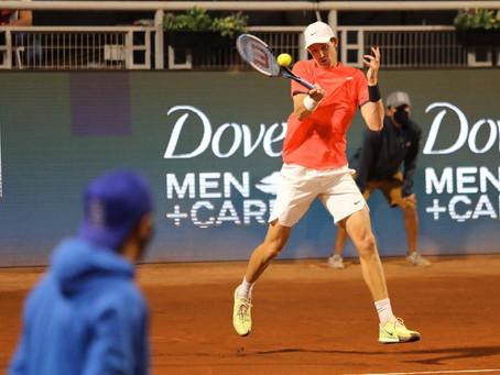 Jarry y Tiafoe batallaron en el Chile Open: El chileno salvó 6 match points, pero no fue suficiente