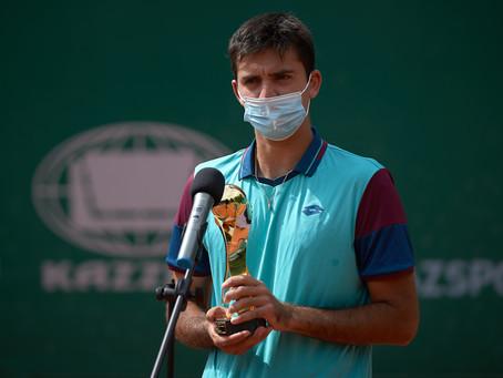 Tomás Barrios cierra una buena semana cayendo en la final del Challenger de Almaty 2