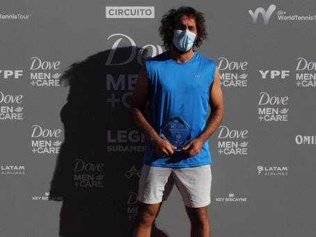 Gonzalo Lama levanta su segundo título del año en el M15 de Córdoba