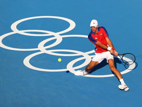 Djokovic da el primer paso hacia el Golden Slam: La primera jornada del tenis en Tokio 2020