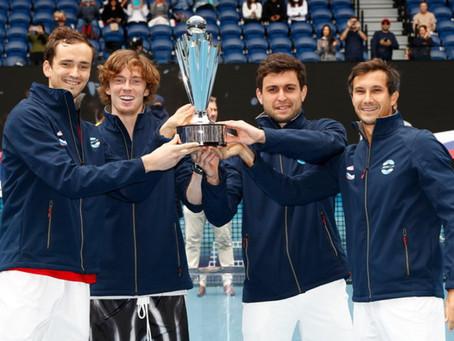 Rusia conquista la ATP Cup con impecable actuación