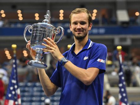 Djokovic siente la presión de la historia y no puede ante un Medvedev que triunfa en el US Open