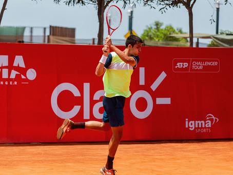 Tomás Barrios finaliza la mejor semana de su carrera tras caer en semifinales del Challenger de Lima