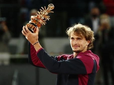 Zverev conquista su cuarto título Masters 1000 en Madrid tras vencer en tres sets a Berrettini