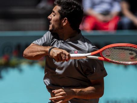 Garin buscará su primera semifinal de Masters 1000 cuando se mida con Berrettini en Madrid