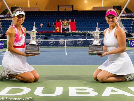 Guarachi consigue su primer WTA 1000 tras arrasar en la final de Dubai